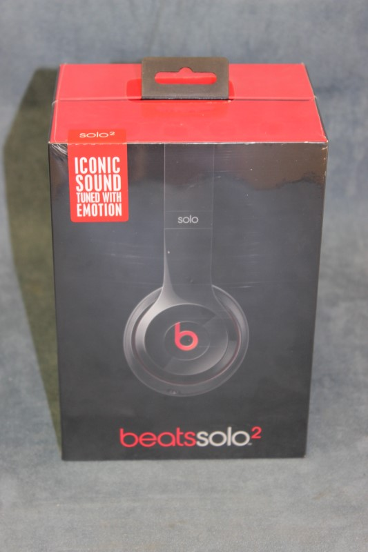 Beats Solo2 On-Ear Headphones, Black - Model# B0518