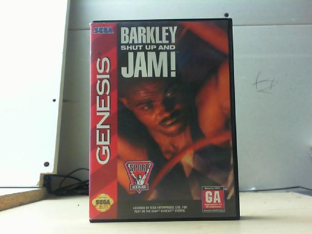 SEGA Sega Game BARKLEY SHUT UP AND JAM
