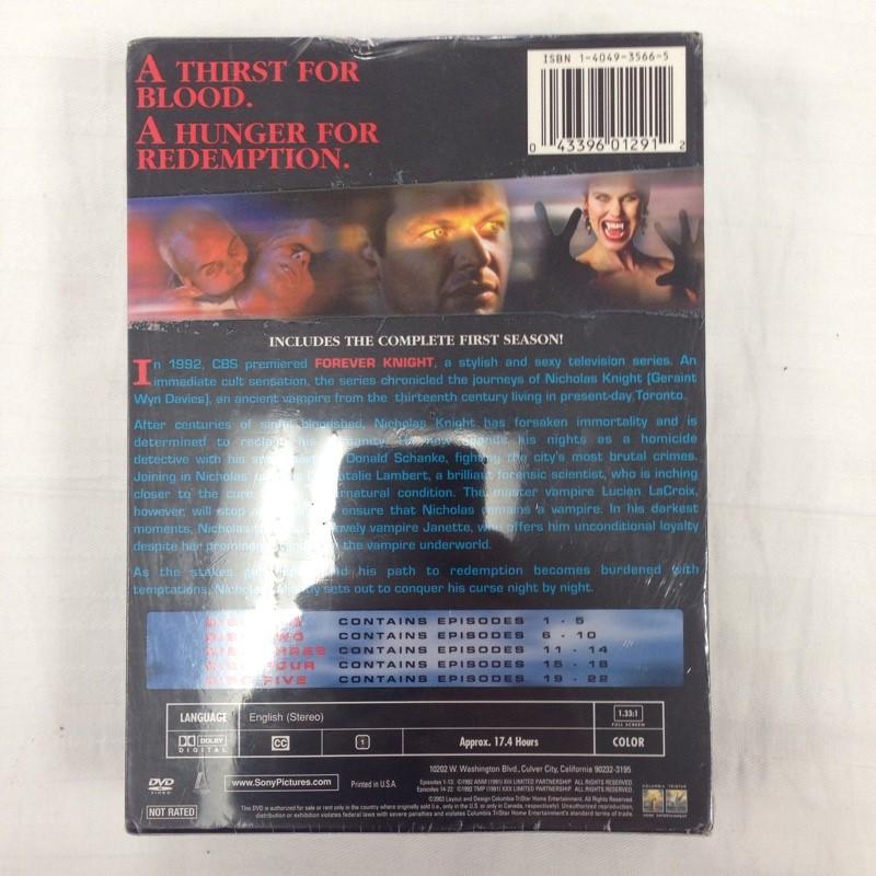 DVD BOX SET DVD FOREVER KNIGHT