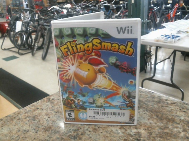 NINTENDO Nintendo Wii Game FLING SMASH