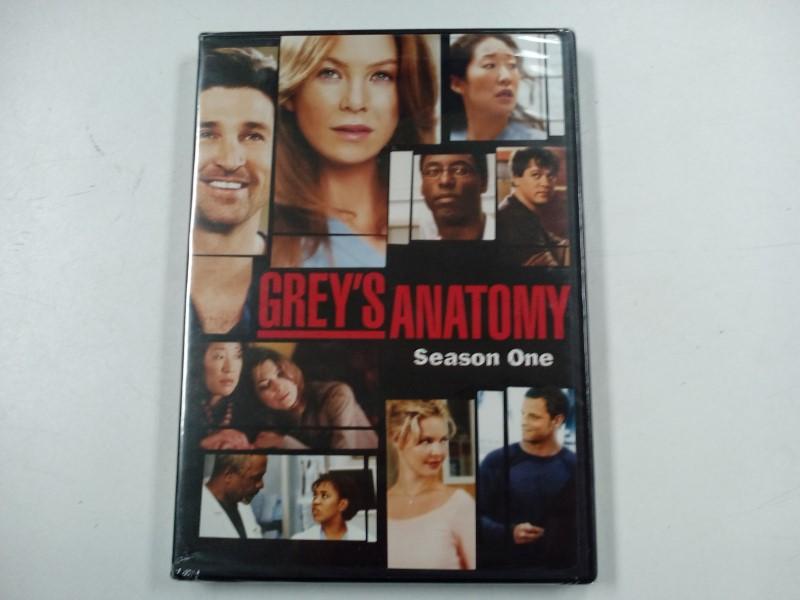 NEW!! DVD GREY'S ANATOMY SEASON ONE 1