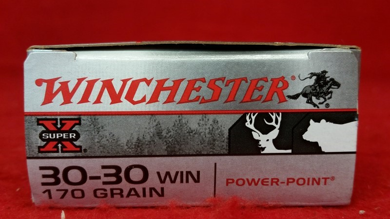 Winchester 30-30win 170gr Super X Power-Point Ammo