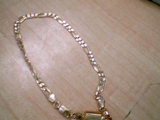 Gold Bracelet 14K Yellow Gold 4.7g