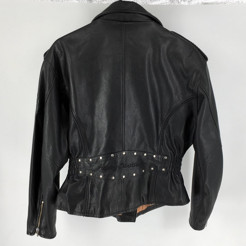 Harley Davidson Leather Jacket Womans CA03402 (L)