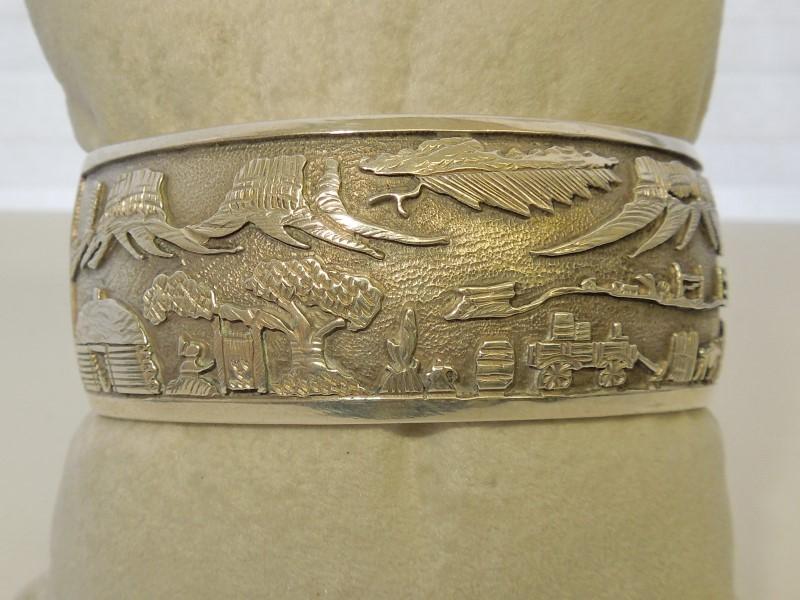 Silver Bracelet 925 Silver 54.5g