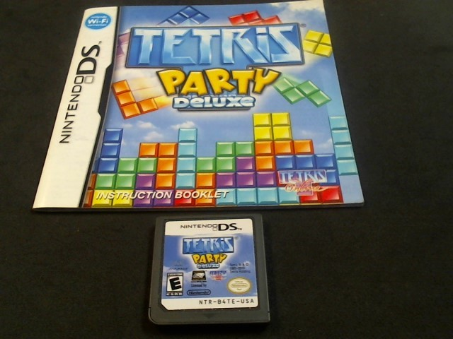 NINTENDO DS Game TETRIS PARTY DELUXE (I05012391)