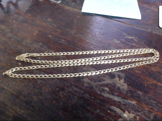 Gold Chain 14K White Gold 12.7g