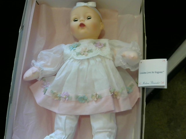 MADAME ALEXANDER Doll HUGGUMS