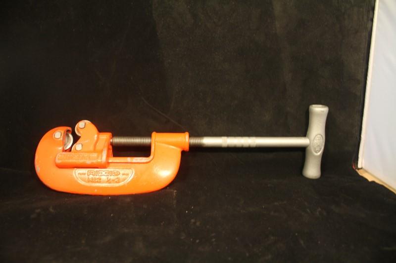 "No 2A Ridgid Pipe Cutter Heavy Duty 1/8"" to 2"" Plumbing Tool"