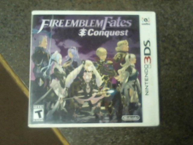 NINTENDO 3DS Game FIRE EMBLEM FATES CONQUEST 3DS
