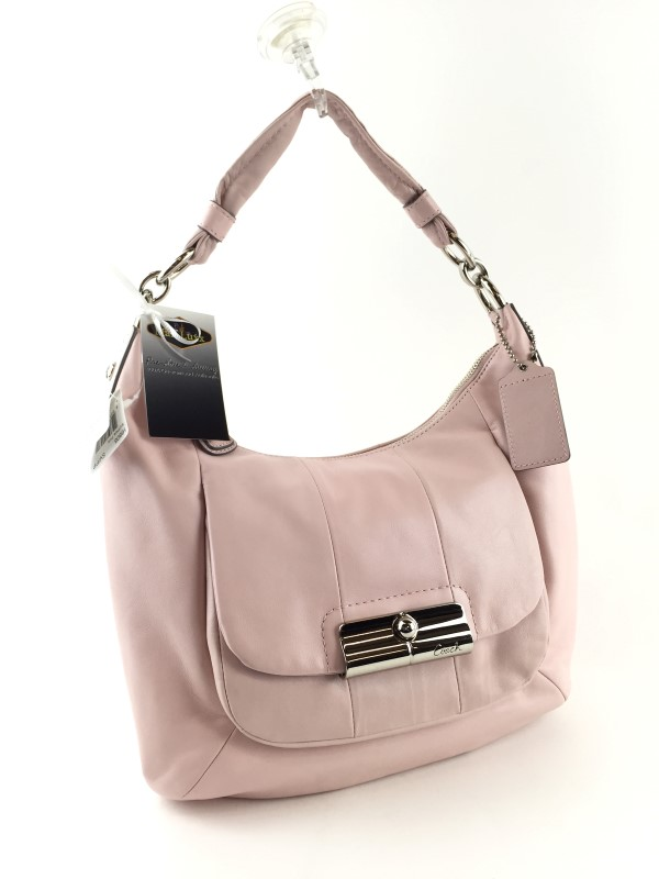 COACH KRISTIN LEATHER SHOULDER BAG 16808