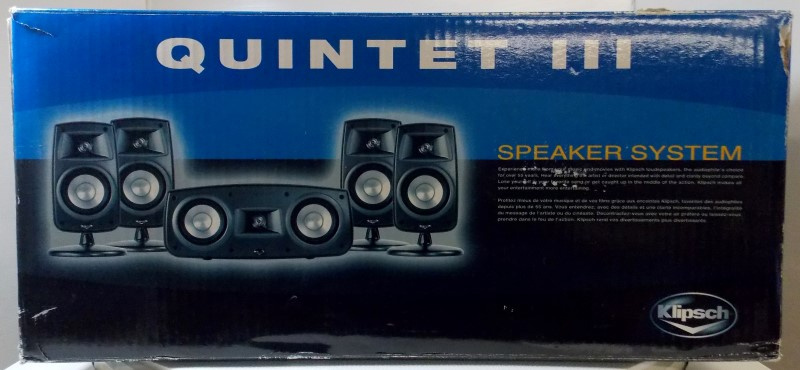 KLIPSCH QUINTET III SURROUND SPEAKER SYSTEM