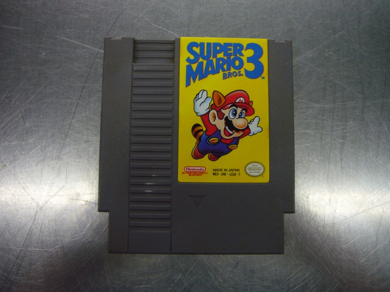 NINTENDO NES Game SUPER MARIO BROS 3 *CARTRIDGE ONLY*