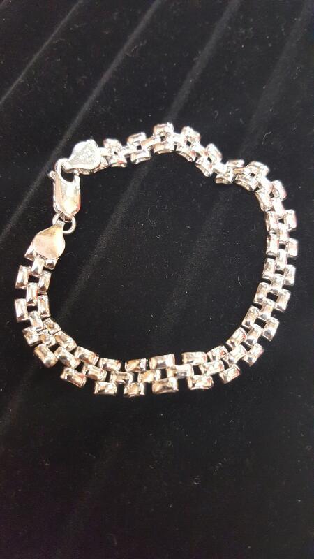 Silver Bracelet 925 Silver 6.8dwt