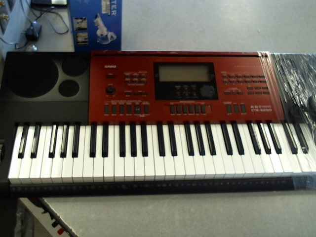CASIO Keyboards/MIDI Equipment CTK-6250