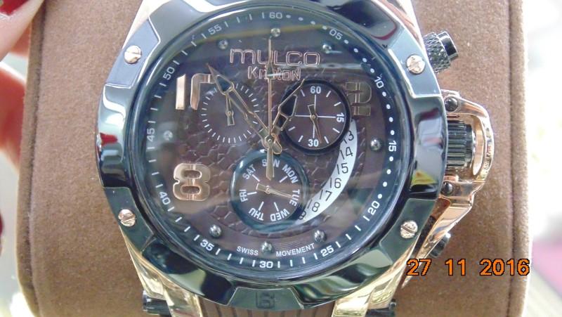 MULCO KRIPTON MW5-2029-035 ANALOG DISPLAY SWISS QUARTZ