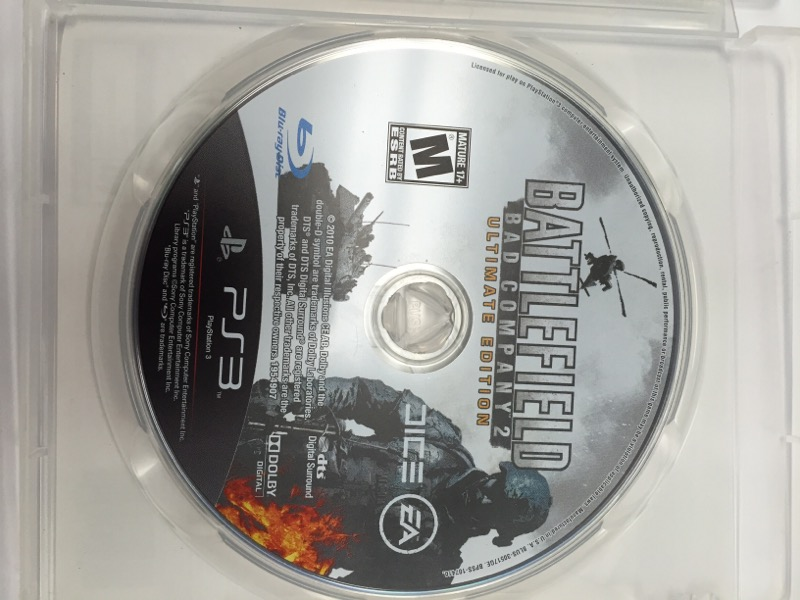 SONY PlayStation 3 BATTLEFIELD BAD COMPANY 2 ULTIMATE EDITION
