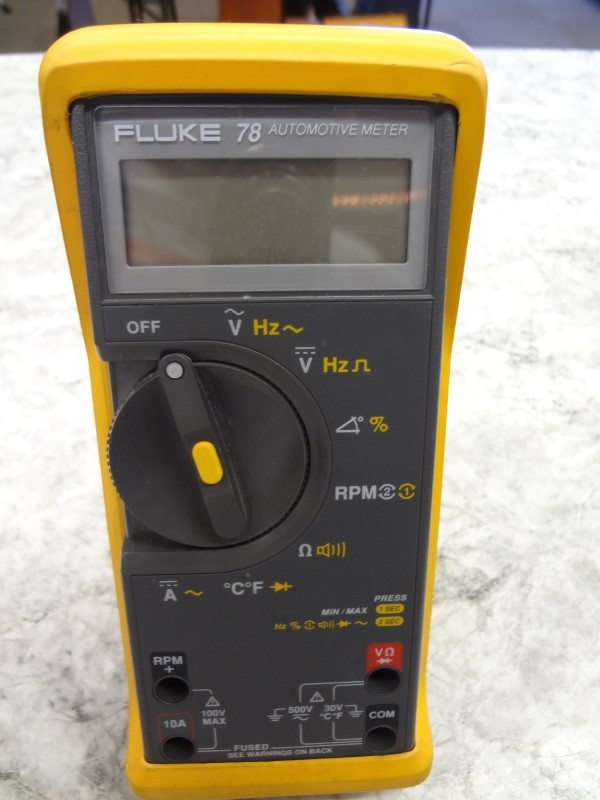FLUKE MULTIMETER 78 SERIES