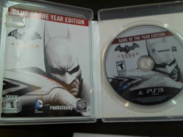 Sony PlayStation 3 Game BATMAN: ARKHAM CITY