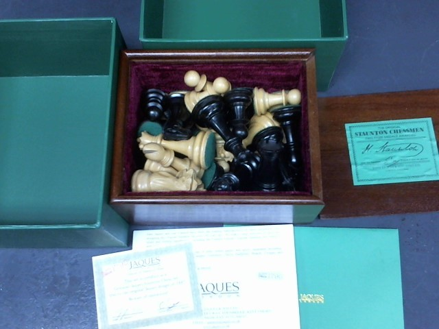 JAQUES LONDON Miscellaneous Toy CHESS SET
