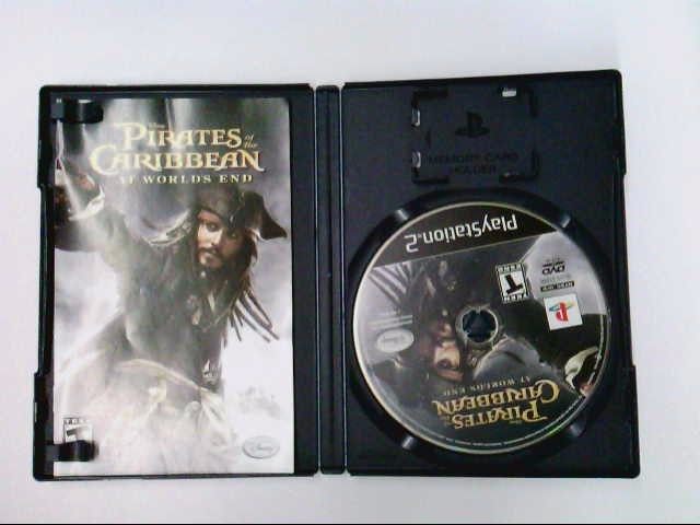 PS2 PIRATES OF THE CARIBBEAN AT WORLD'S END