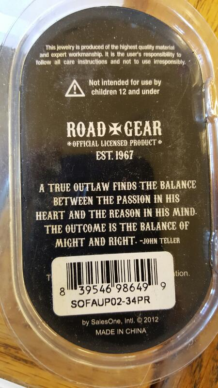 """ROAD GEAR SONS OF ANARCHY GUAGES 3/4"""" - 1 Pair"""
