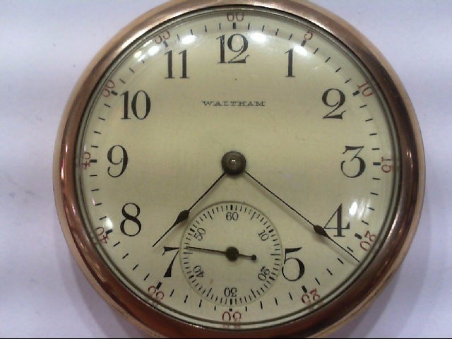 WALTHAM 15 JEWEL, 1906 POCKET WATCH SER#15377572