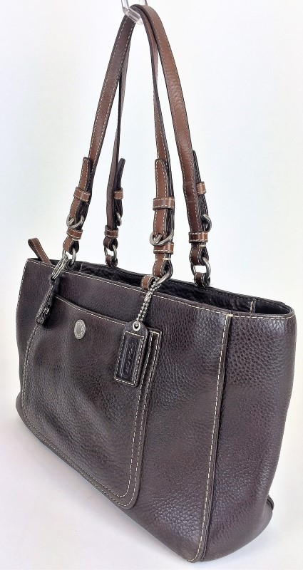 COACH CHELSEA PEBBLED LEATHER TOTE F10892