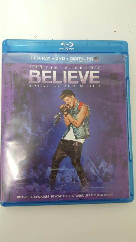 BLU-RAY MOVIE Blu-Ray JUSTIN BIEBER'S BELIEVE