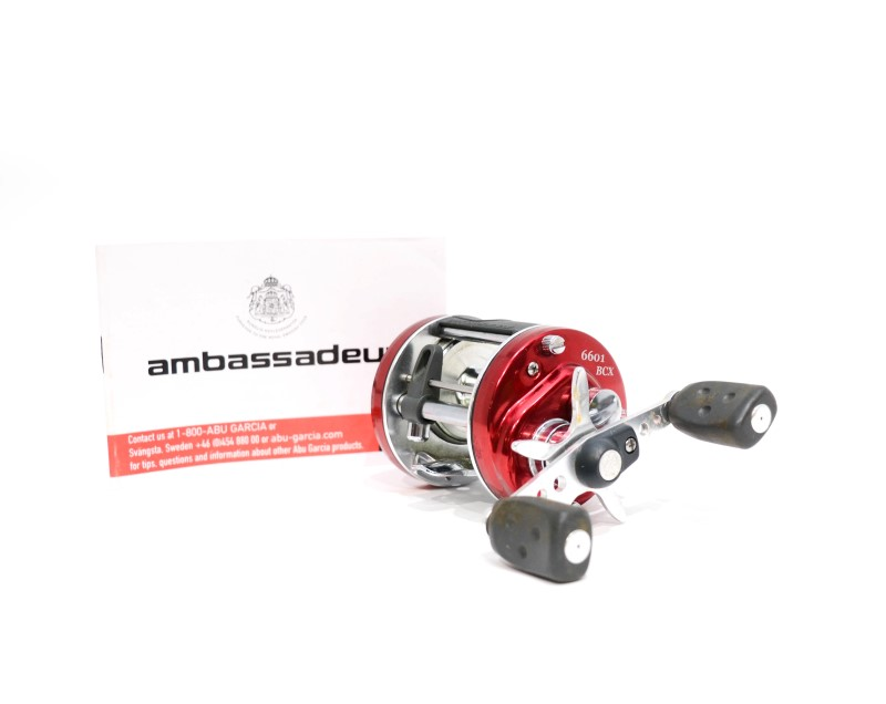 Abu Garcia Ambassadeur 6601 BCX LH Baitcasting Fishing Reel 5.3:1>