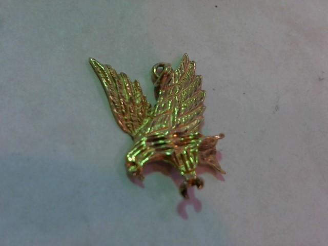 Gold Pendant 14K Yellow Gold 2.4g