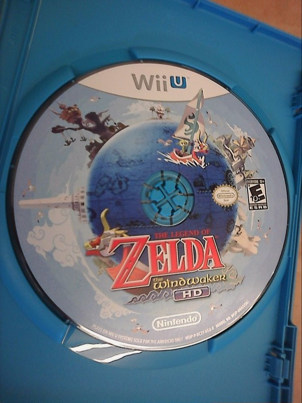 NINTENDO Wii U Game THE LEGEND OF ZELDA: THE WIND WAKER