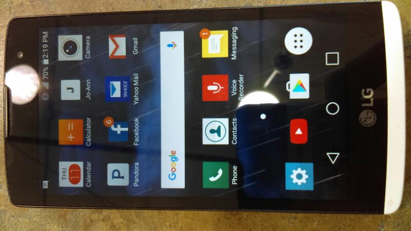 LG Cell Phone/Smart Phone LG-H343