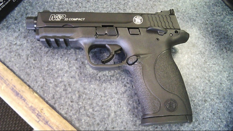 SMITH & WESSON Pistol M&P 22 COMPACT SUPR READY (10199)