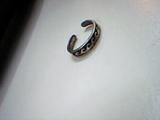 Lady's Silver Ring 925 Silver 1.4g Size:5