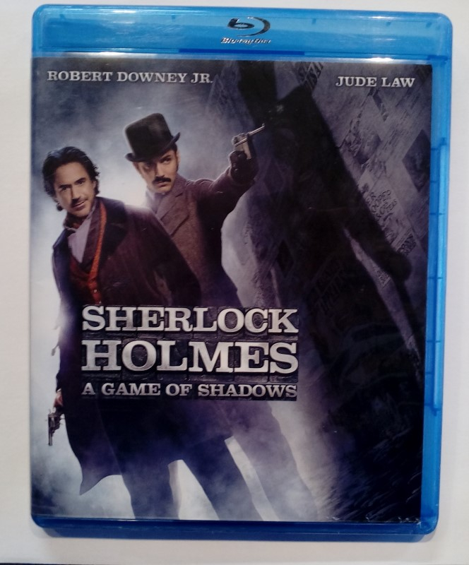 BLU-RAY MOVIE SHERLOCK HOLMES:A GAME OF SHADOWS