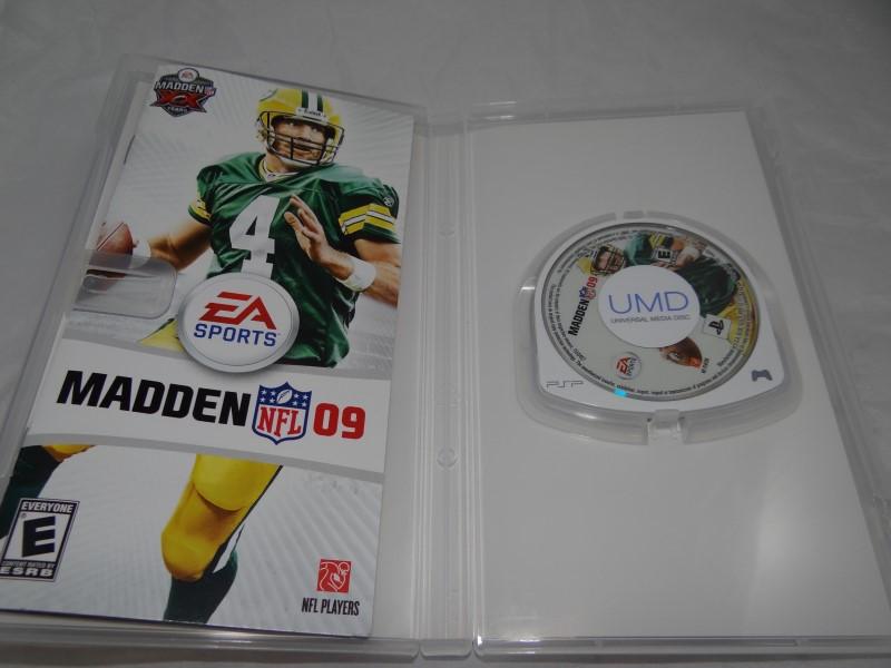 MADDEN NFL 09 - PSP GAME