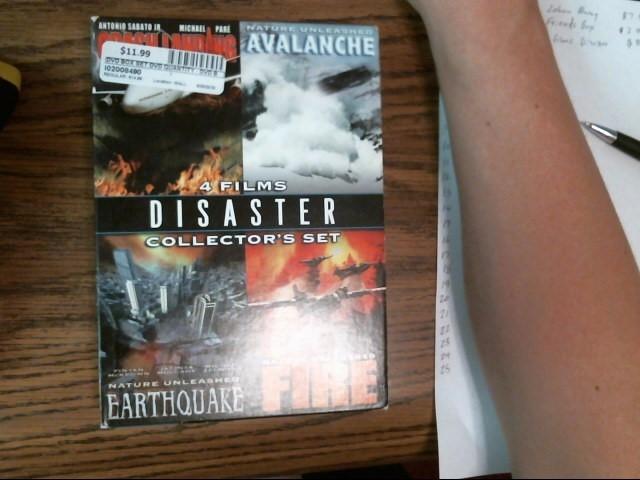Disaster 4 pack box set dvd