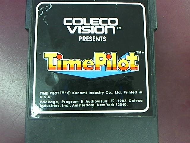 COLECO VISION TIME PILOT