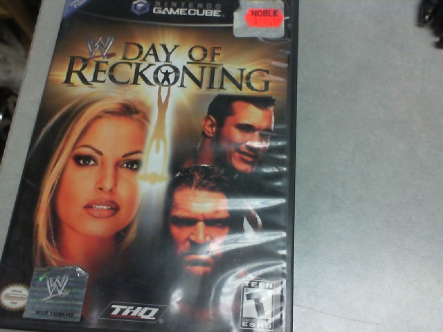 Gamecube WWE Day Of Reckoning