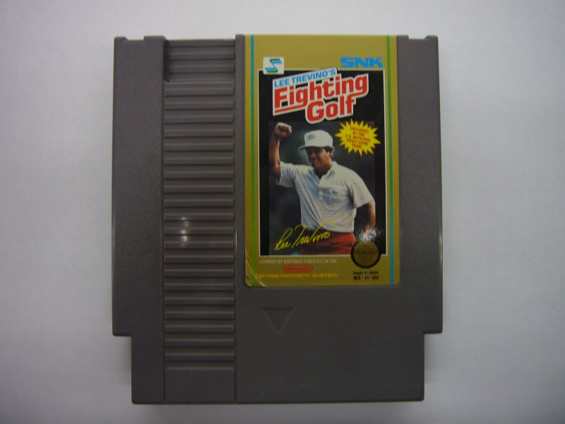 NINTENDO NES Game LEE TREVINO'S FIGHTING GOLF *CARTRIDGE ONLY*