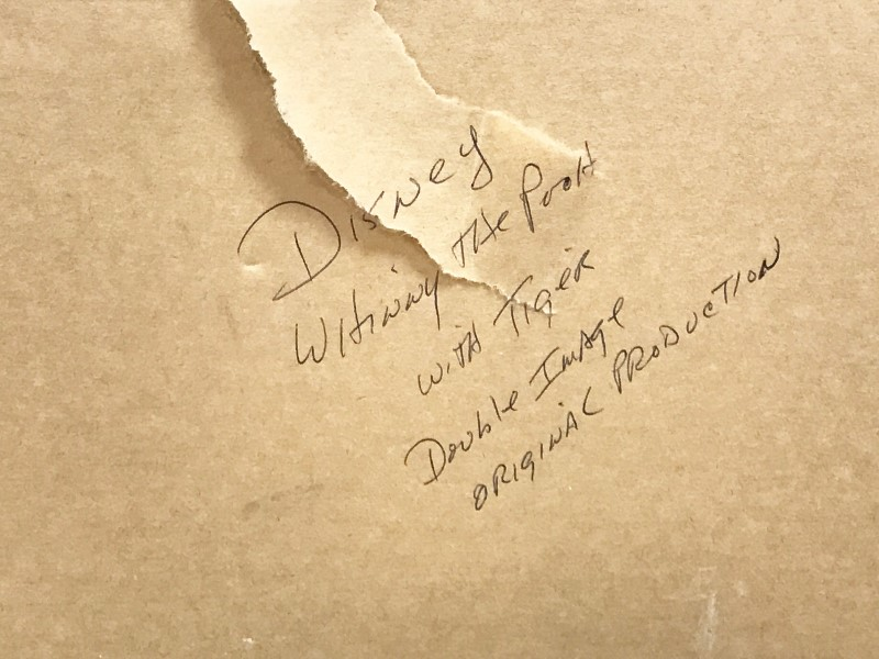 Walt Disney Tigger Double Image Serigraph Cel