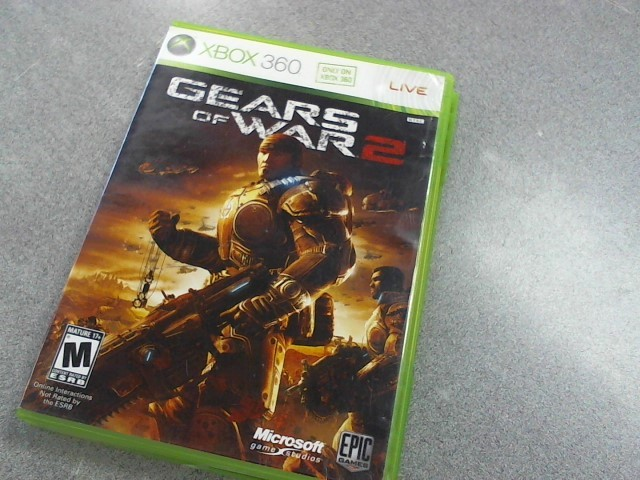 MICROSOFT Microsoft XBOX 360 Game XBOX 360 GEARS OF WAR 2