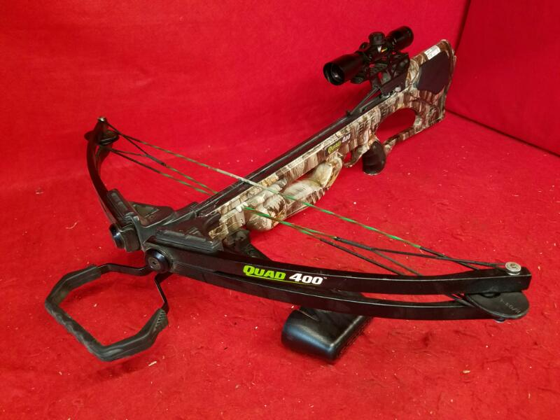 Barnett Quad 400 Crossbow W/Barnett 4X32 Scope
