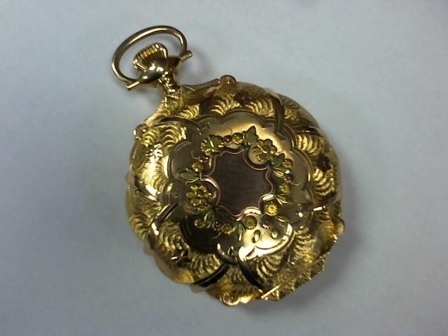 Pocket Watch 14K Yellow Gold 152.3g