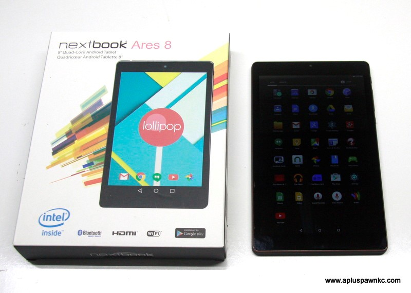 NEXTBOOK Tablet ARES 8 Quad-Core Android 16GB
