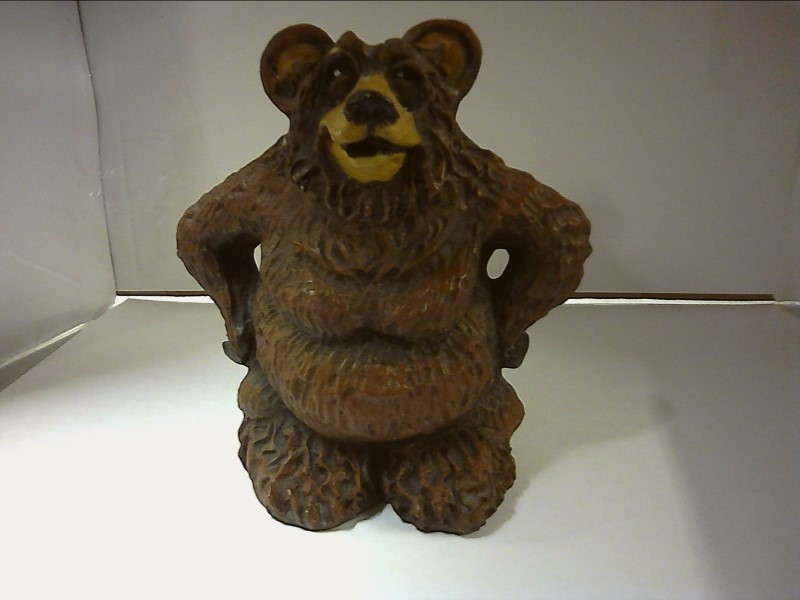 RICK J ROWLEY Collectible Plate/Figurine BEAR