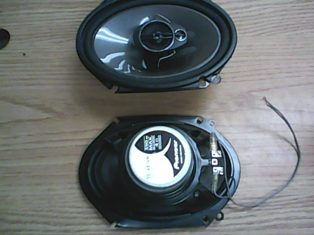 PIONEER ELECTRONICS Car Speakers/Speaker System TS-A874M