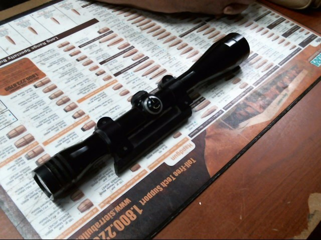 VINTAGE REDFIELD RIFLE SCOPE 6X