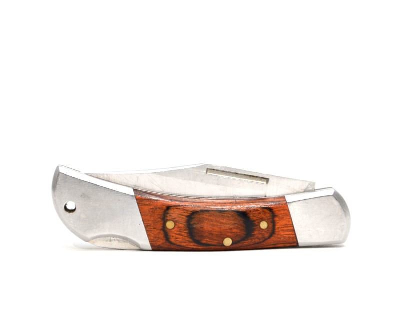 "Elk Ridge ER-125 Folding Pocket Knife 440 Stainless Steel 2.25"">"